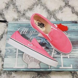 Vans Pink Lemonade 💗 Classic Slip on